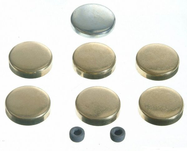Frost Plug Set - Brass(EngineTech PK17B) 64-90