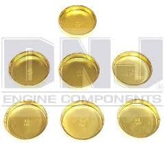 Frost Plug Set - Brass (DNJ FPS602) 80-04