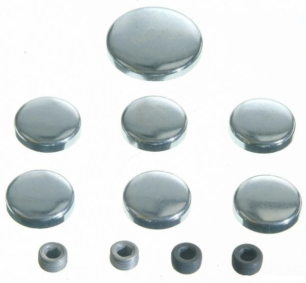 Frost Plug Set - Steel (EngineTech PK10) 70-82