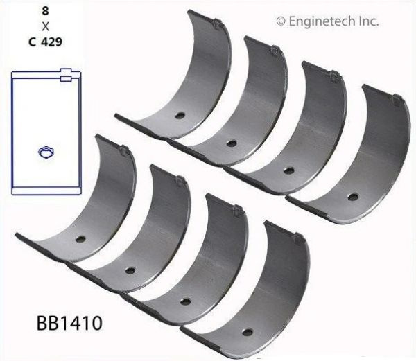 Rod Bearing Set (EngineTech BB1410) 83-97