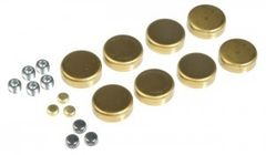 Frost Plug Set - Brass (EngineTech PK14B) 57-03