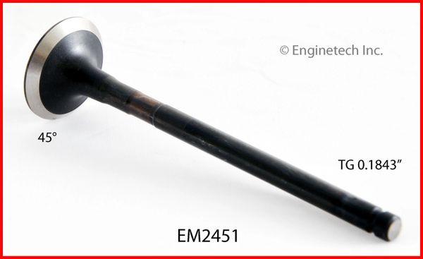 Exhaust Valve (EngineTech EM2451) 85-91
