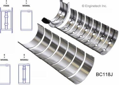 Main Bearing Set (EngineTech BC118J) 89-12