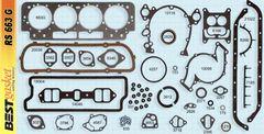 Full Gasket Set (Best RS663G-1) 63 Only