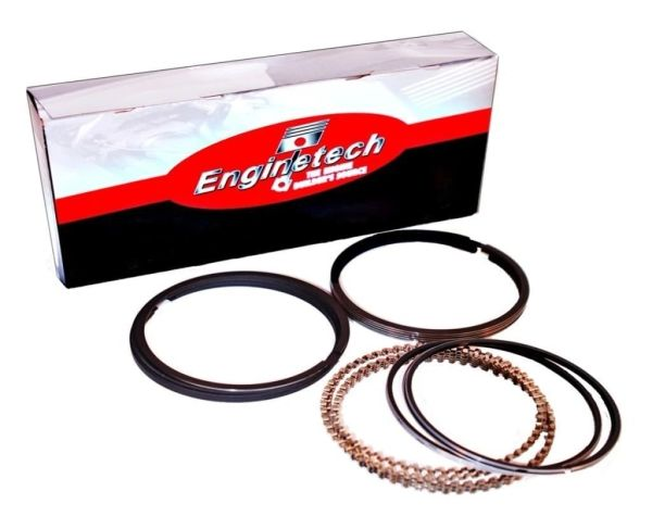 Piston Ring Set - Moly (EngineTech M40058) 56-67