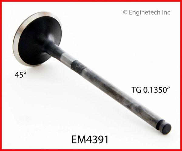 "Exhaust Valve - 1.161"" (EM4391) 01-13"