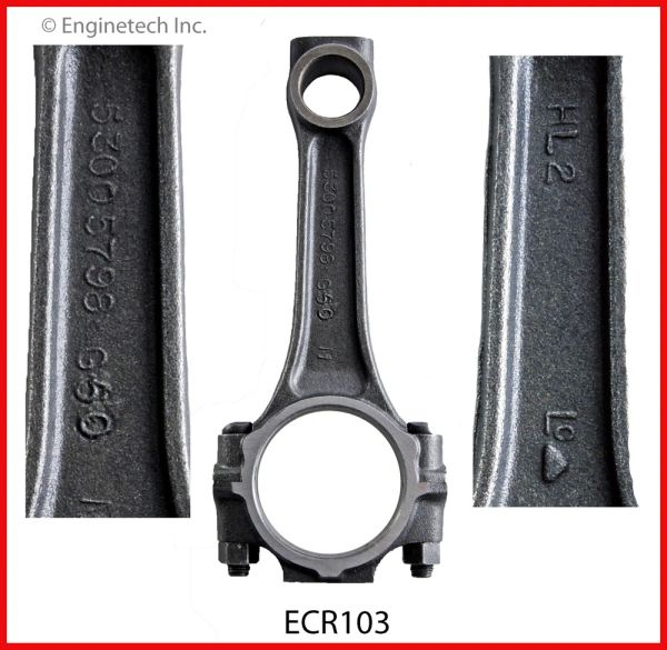 Connecting Rod (EngineTech ECR103) 88-03