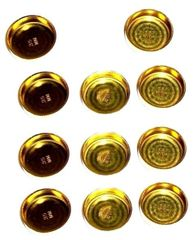 Frost Plug Set - Brass (Melling MPE255BR) 88-04