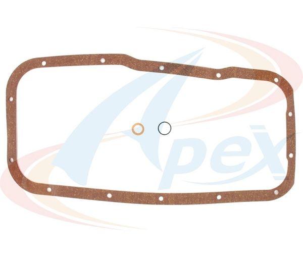 Oil Pan Gasket (Apex AOP502) 89-06