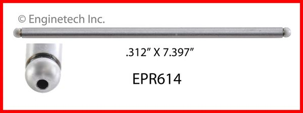 Push Rod (EngineTech EPR614) 99-17