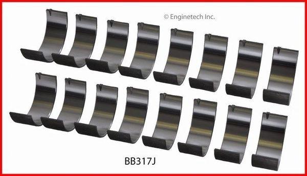 Rod Bearing Set (EngineTech BB317J) 91-16