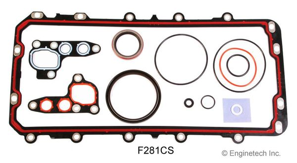 Lower Gasket Set (EngineTech F281CS) 91-15