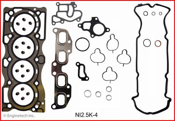 Full Gasket Set (EngineTech NI2.5K-4) 05-12