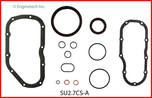 Bottom End Gasket Set (EngineTech SU2.7CS-A) 06-08