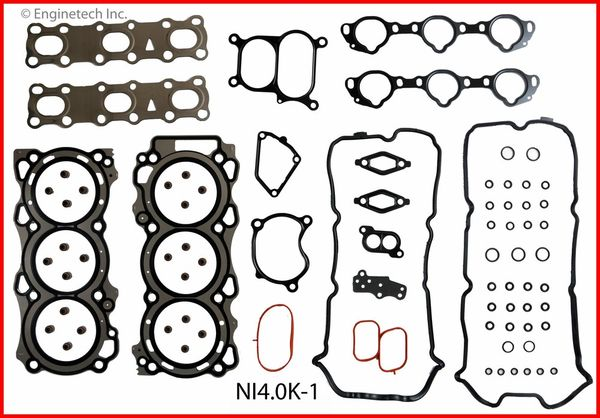 Full Gasket Set (EngineTech NI4.0K-1) 05-12