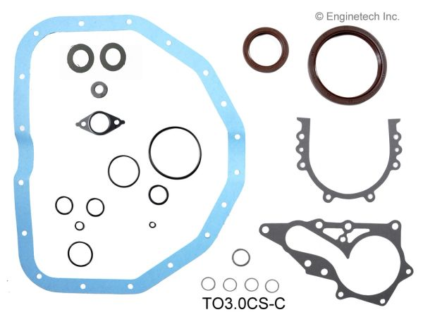 Lower Gasket Set (EngineTech TO3.0CS-C) 92-05