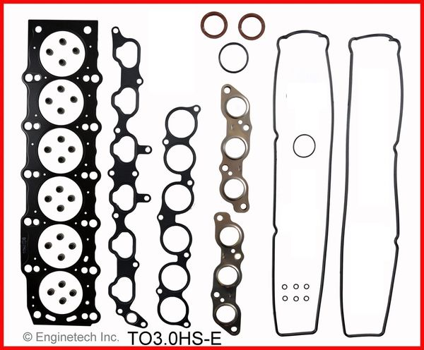 Head Gasket Set - MLS (EngineTech TO3.0HS-E) 92-97