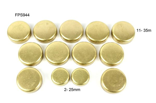 Frost Plug Kit - Brass (DNJ FPS944) 92-05