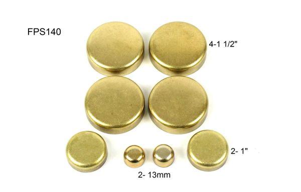 Frost Plug Set - Brass (DNJ FPS140) 98-10