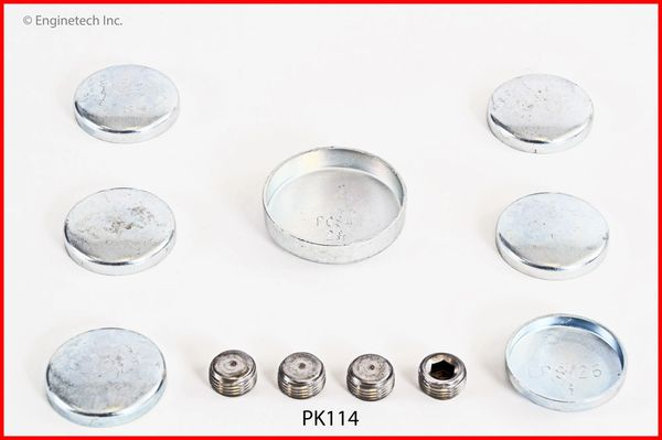 Frost Plug Set - Steel (EngineTech PK114) 58-79