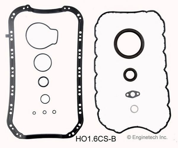 Bottom End Gasket Set (EngineTech HO1.6CS-B) 96-00