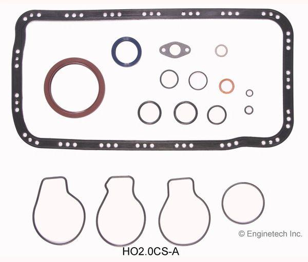 Bottom End Gasket Set (EngineTech HO2.0CS-A) 90-01
