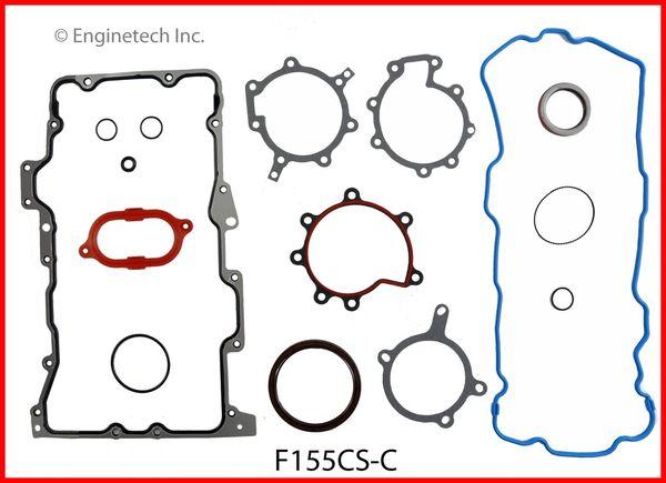 Bottom End Gasket Set (EngineTech F155CS-C) 95-12
