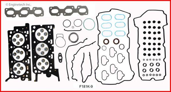 Full Gasket Set (EngineTech F181K-9) 06-09 See Listing