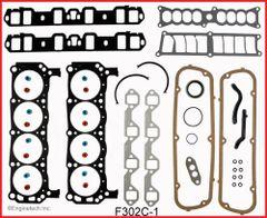 Full Gasket Set (EngineTech F302C-1) 87-90 HO Engines