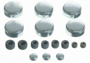 Frost Plug Set - Steel (EngineTech PK48) 80-95