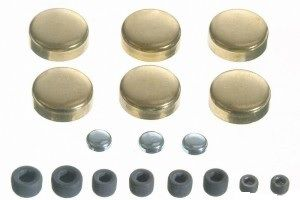 Frost Plug Set - Brass (EngineTech PK48B) 80-95