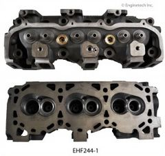 Cylinder Head - Bare (EngineTech EHF244-1) 95-00