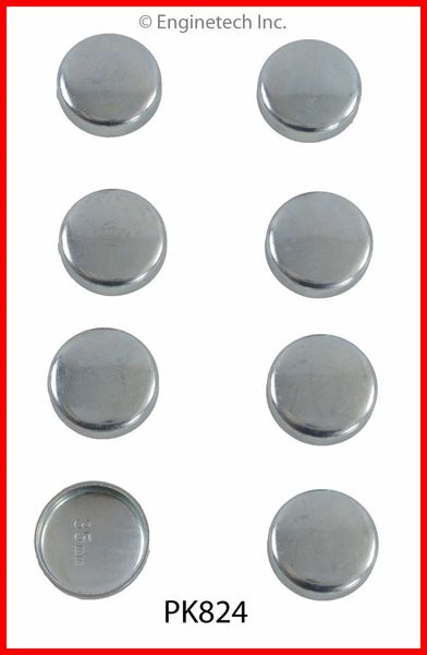 Frost Plug Set - Steel (EngineTech PK824) 02-12