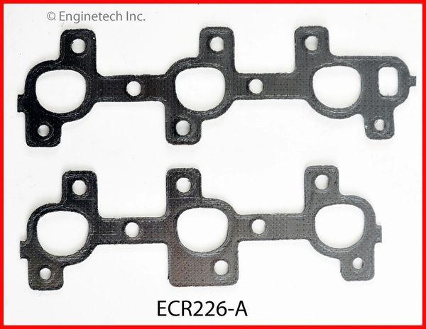 Exhaust Manifold Gasket Set (EngineTech ECR226-A) 02-12