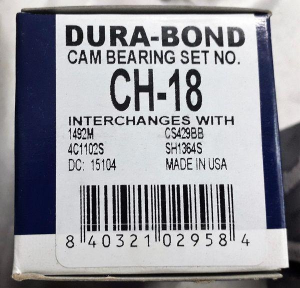 Cam Bearing Set (Durabond CH18) 80-07