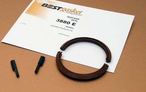 Rear Main Seal - Rubber (Best 3880E) 52-57