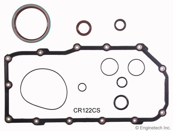 Bottom End Gasket Set (EngineTech CR122CS) 95-99