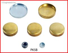 Frost Plug Kit - Brass (EngineTech PK5B) 62-89