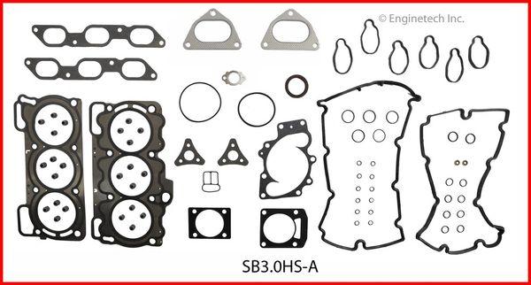 Full Gasket Set (EngineTech SB3.0K-1) 01-04