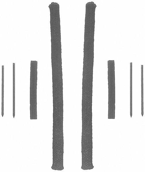 Rear Main Seal - Rope Style (Felpro BS130442) 62-90