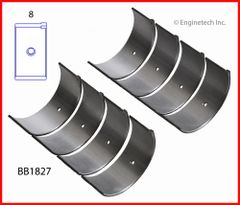 Rod Bearing Set (EngineTech BB1827) 92-12