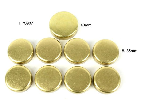 Frost Plug Set - Brass (DNJ FPS907) 83-01