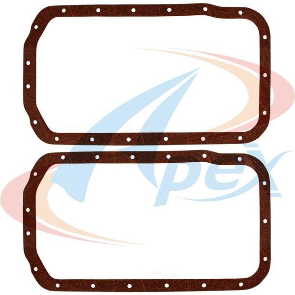 Oil Pan Gasket Set (Apex AOP823) 88-04