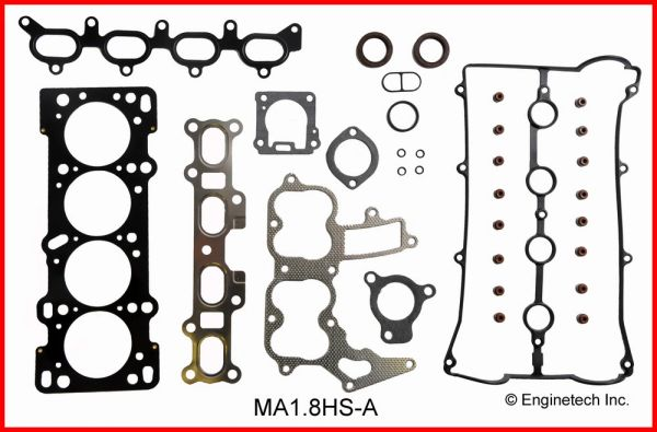 Full Gasket Set (EngineTech MA1.8K-3) 94-97 (Miata)