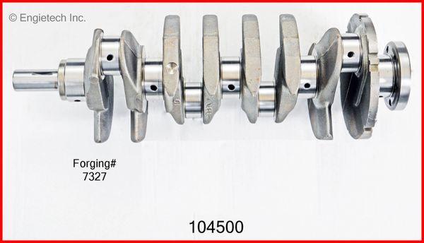 Crankshaft Kit (EngineTech 104500) 02-07