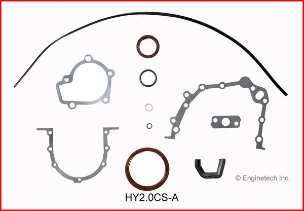 Bottom End Gasket Set (EngineTech HY2.0CS-A) 96-12