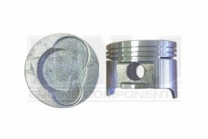 Piston Set - Cast (EngineTech P4666(3) ) 89-00