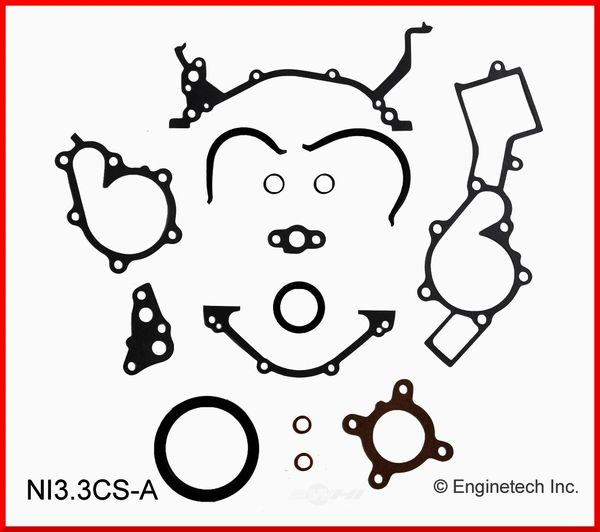 Conversion / Lower Gasket Set (EngineTech NI3.3CS-A) 96-04