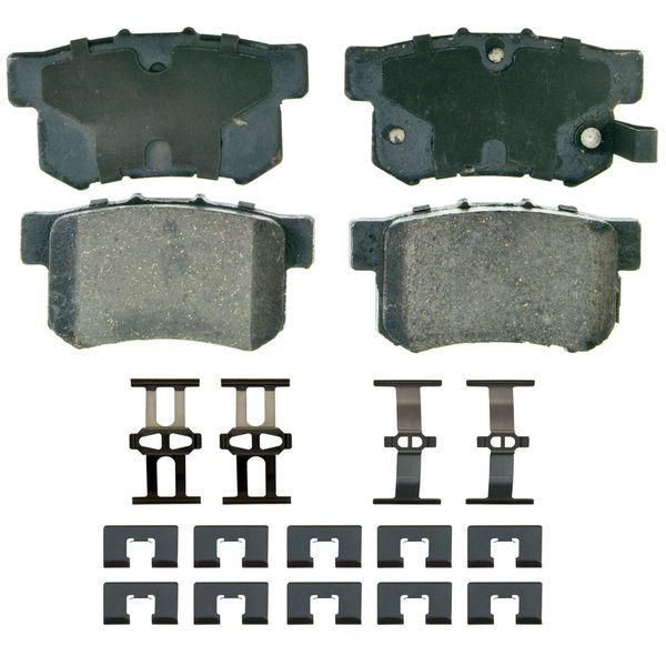 Brake Pad Set - Rear (Wagner ZD537) 01-04