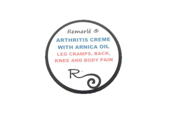 Arthritis and Pain Creme with Arnica -Leg Cramps, Body Pain, Neck Pain, Back Pain, Knee Pain
